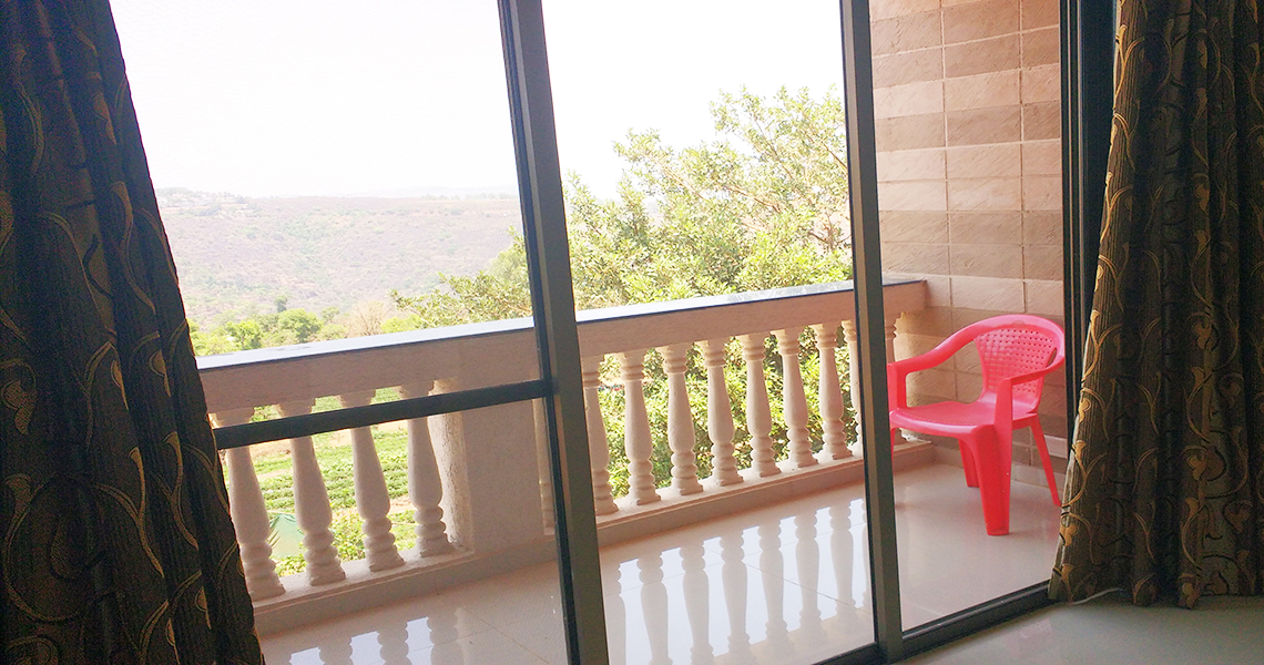 resort with view in panchgani